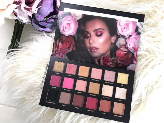 Huda Beauty Rose Gold Remastered Palette 3